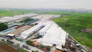rụ sở Công ty TNHH thép Cường Phát DST tại Việt Yên, Bắc Giang